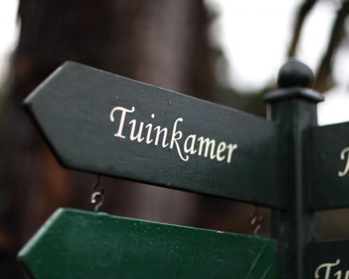 Trouwen in de Tuinkamer
