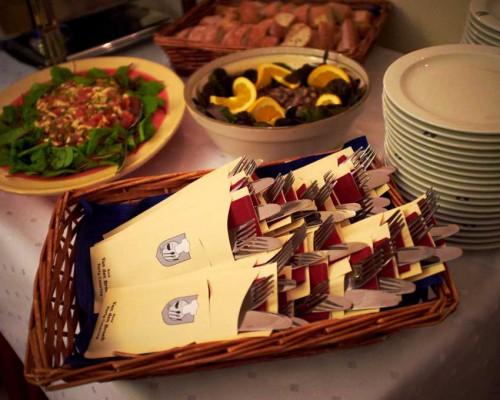 Lunch in de Tuinkamer, Den Haag