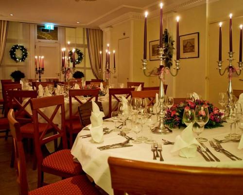 Private dining in de Tuinkamer, Den Haag